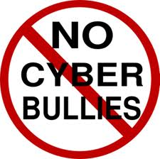 No Cyberbullying Sign