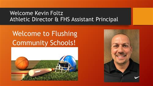 Welcome Kevin Foltz!