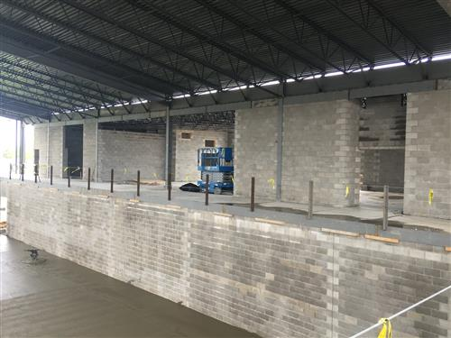 FHS Field House Addition as of May 23, 2019