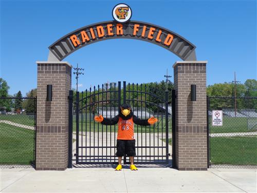 Raider Bird at Raider Field