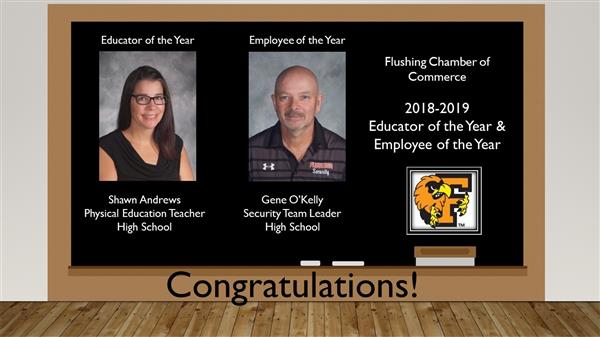 Educator and Employee of the Year