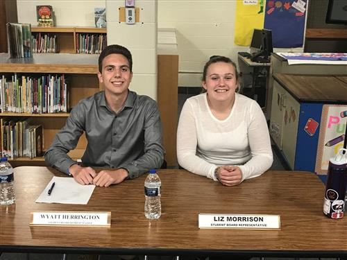 FHS Board of Education Student Representatives