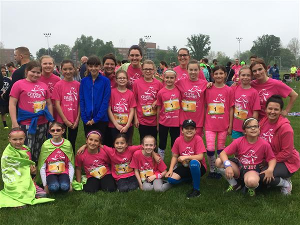 Girls on the Run at 5K in Lansing